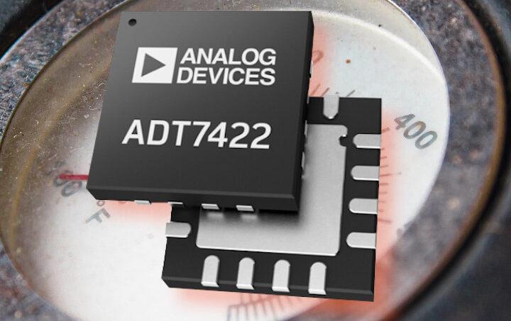 Il nuovo sensore di temperatura ADT7422