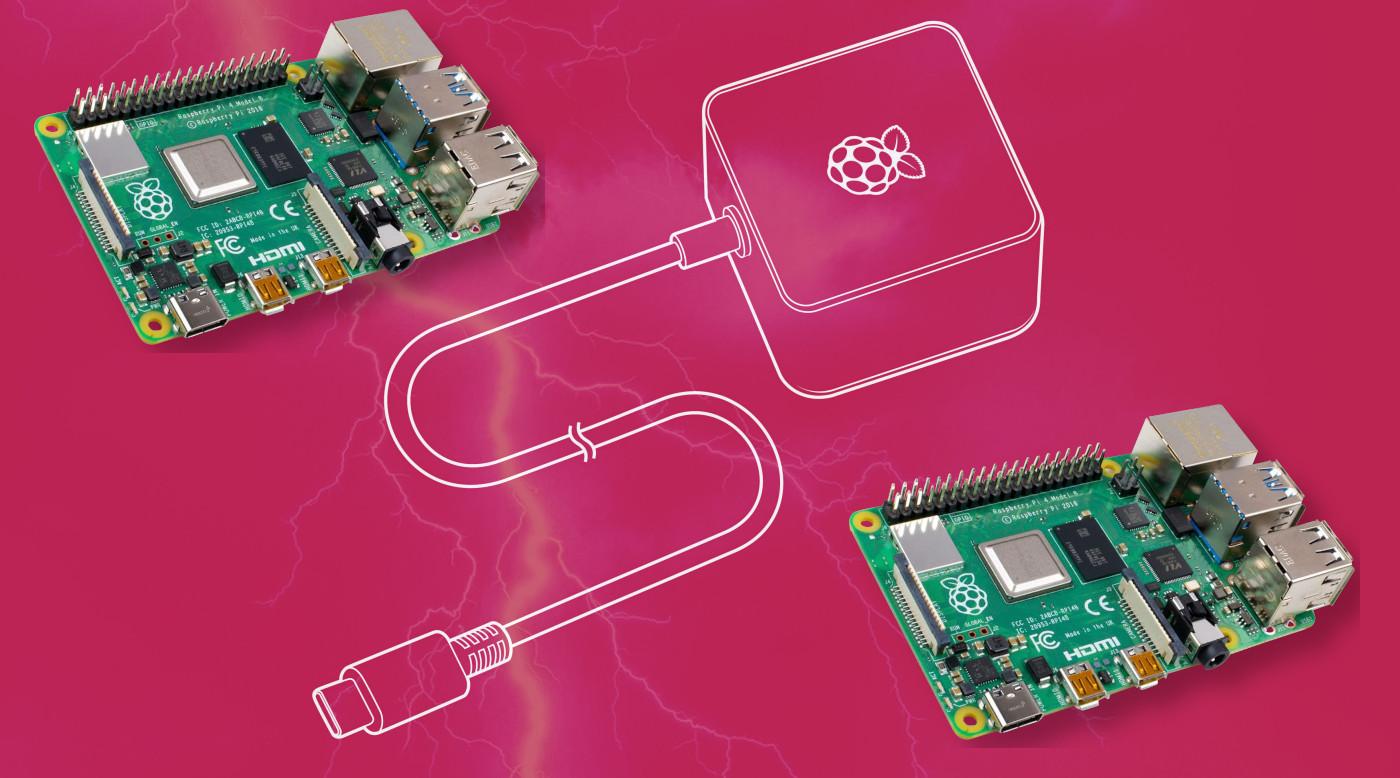 L'alimentazione del Raspberry Pi 4