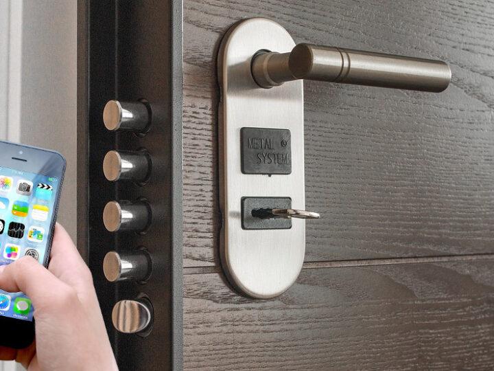 La serratura intelligente è sempre più utilizzata. Addio chiavi in metallo